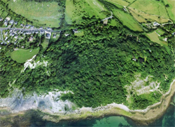 Bonchurch Landslip © GoogleEarth