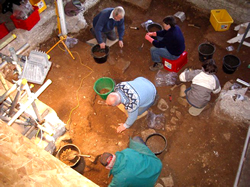 Excavations at Brading Roman Villa (c) SM