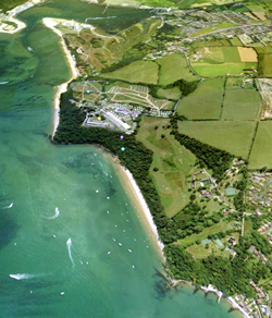 Priory Bay from the North © Google Earth