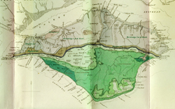 An old geological map of the Island © Ian West