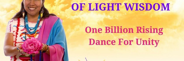 One Billion Rising-Dance For Unity. Peace Mother Geeta Sacred Song