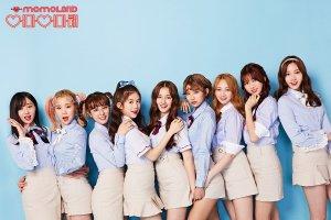 Momoland, banner, kpop, Hyebin, Yeonwoo, Jane, Nayun, JooE, Ahin, Nancy, Daisy, Taeha, iwonchuu