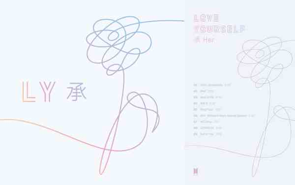 BTS, love yourself, ly, her, wit, kpop album kopen.