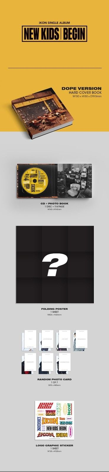 ikon, ikon album, ikon mini album, new kids, the beginning, iwonchuu, kpop, nederland