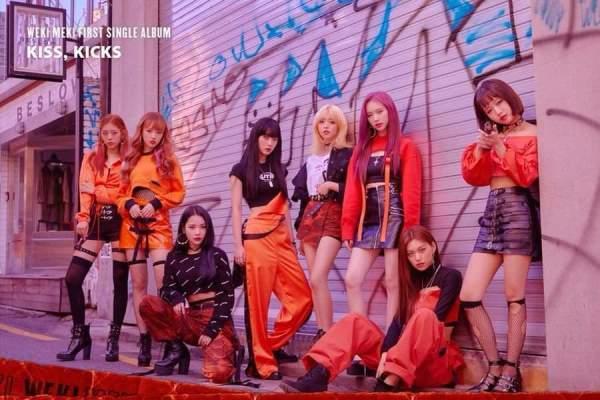 wekimeki, kisskicks, kiss, kicks, crush, cd, album, iwonchuu, kpop, nederland