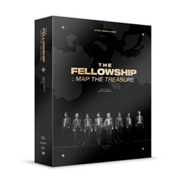 fellowship, map, the, treasure, ateez, dvd, kpop album, kpop, nederland, holland, rotterdam, webshop