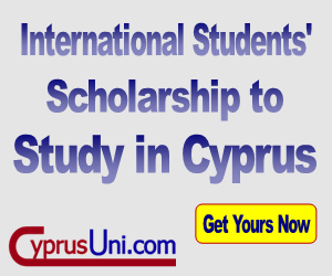 Get Free Scholarships in Reputable Universities in Cyprus