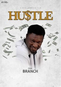 Hustle Movie Femi Branch Character Poster @mayodesigns