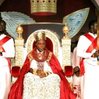 Photos: New Olu of Warri Crowned Today! Your Look at Prince Tsola Emiko's Coronation