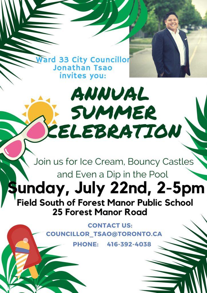 Annual Summer Celebration