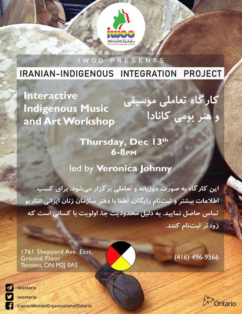 Iranian-Indigenous Integration Workshop Series- Workshop 3