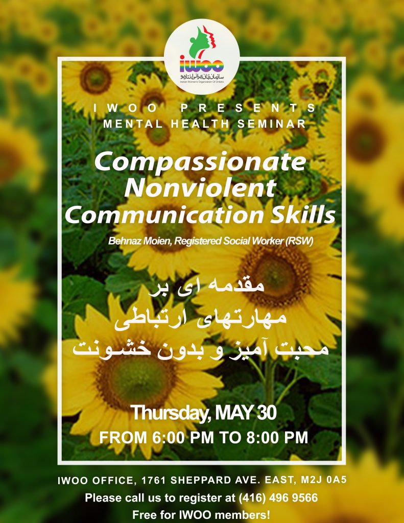 Compassionate Nonviolent Communication Skills Part 2