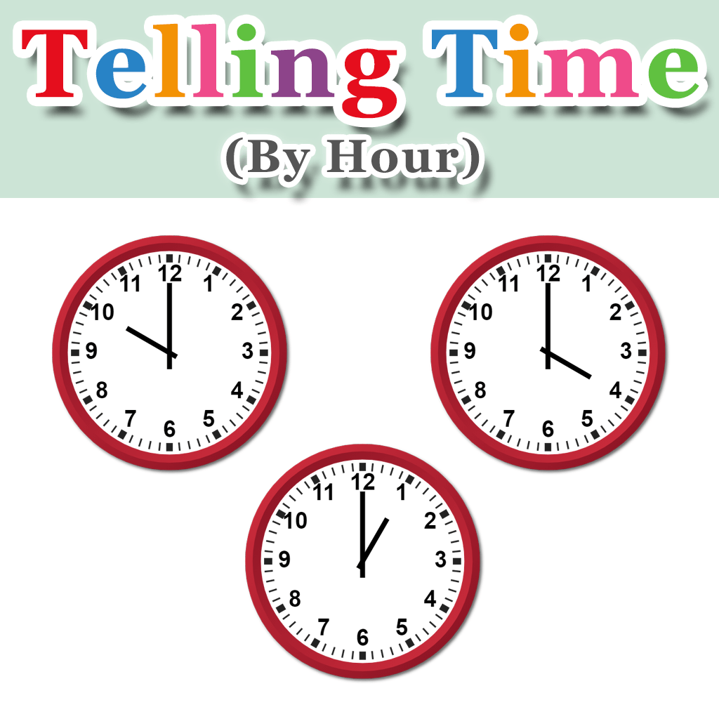 Telling Time By Hour