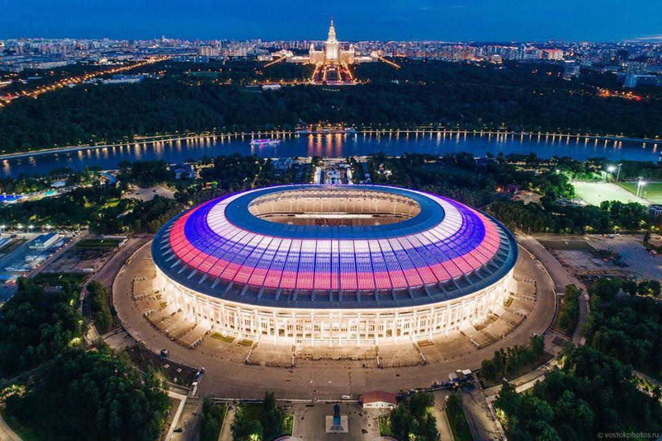 Bàng hoàng với vẻ tráng lệ của 12 SVĐ tổ chức World Cup 2018: Nhìn sân đá trận chung kết mà mê mẩn