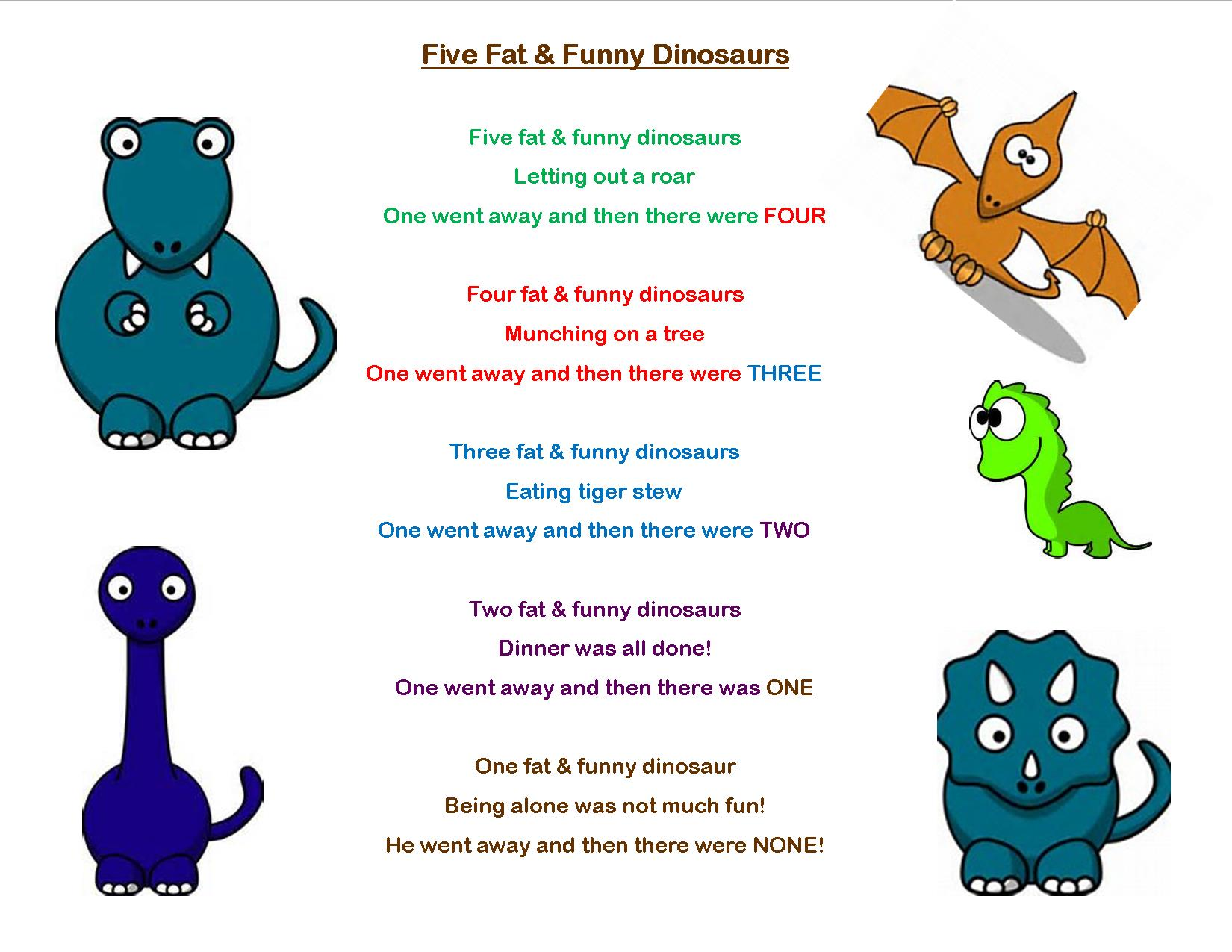 Dinosaur Songs Preschool