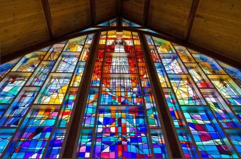 Jesus Window from Below