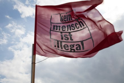 Kein Mensch ist illegal - Nine Days on the Roof - Gerhart Hauptmann Schule