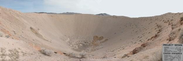 Sedan Crater Panorama