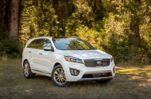 The all-new 2016 Kia Sorento is one of many vehicles you can test drive at the 2015 Cleveland Auto Show.