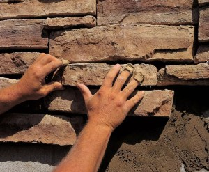 How to Install Manufactured Stone