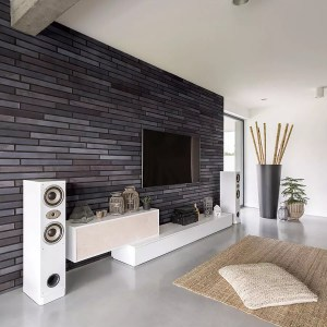 TV Wall - Obsidian Shadow