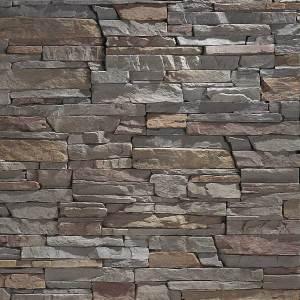 Slate Grey Stacked Stone