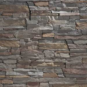 Slate Grey Stacked Stone