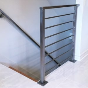 Handrails Great Lakes Metal Fabrication | Wrought Iron Stair Railing Cost | Banister | Traditional | Home | Commercial Rod Iron | Stair Heavy
