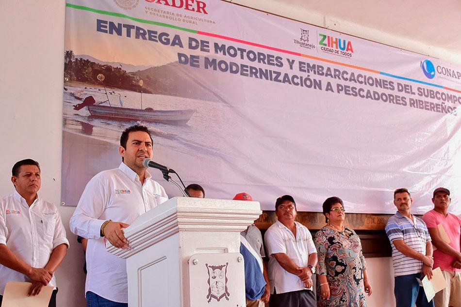 Apoyos a pescadores zihuatanejo 2020 marzo