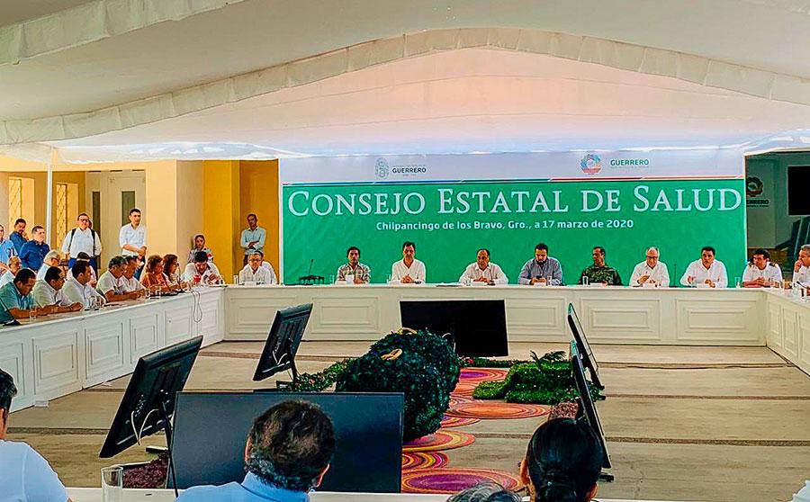 Reunion covid19 chilpancingo alcaldes