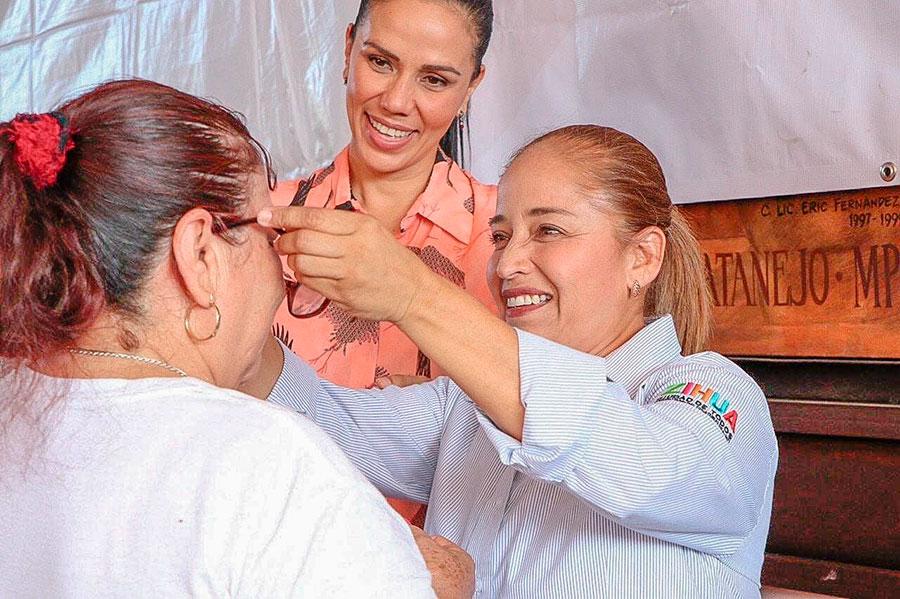 Tercera campania salud visual dif zihuatanejo