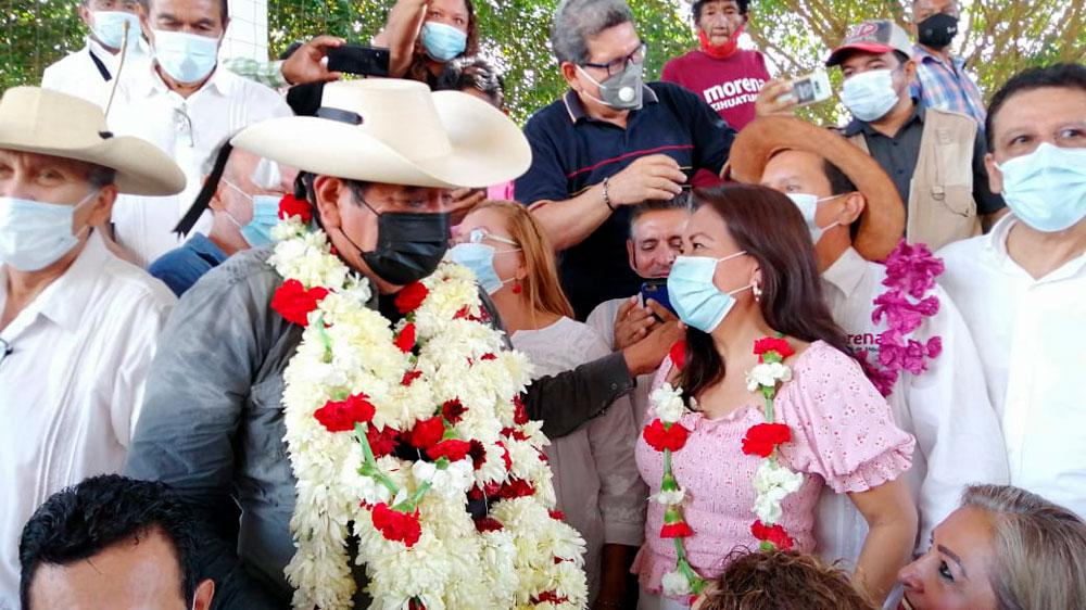 Zihuatanejo le muestra respaldo a Félix Salgado, quien representa unidad en  Morena: Maricarmen Cabrera Lagunas
