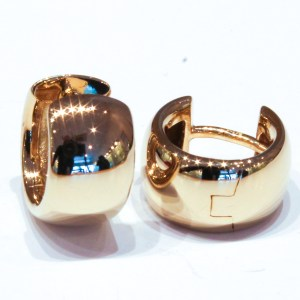Yellow Gold German Made Huggies