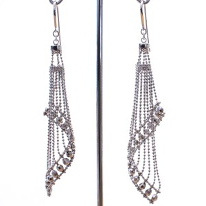 Mesh Contemporary Earrings