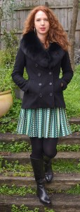 How to style pretty skirts in Winter