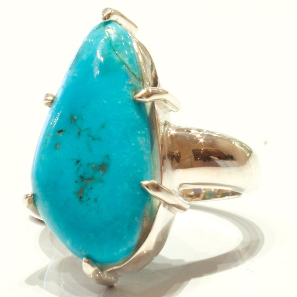 Arizona Turquoise Sterling Silver Ring