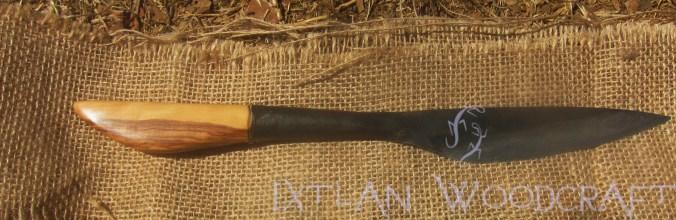 traditional vietnamese blade /traditionelle vietnamesische Klinge from AUTHENTIC BLADES - Griff / handle from IXTLAN WOODCRAFT