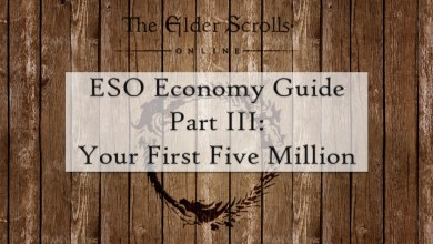 comprehensive guide to the elder scrolls online economy part 3 your first five million gold