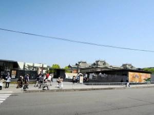 京都国立博物館の入り口:『陽明文庫名宝展』を京都国立博物館で観る