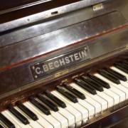 真下慶治記念美術館で1911年製ベヒシュタインピアノのコンサート