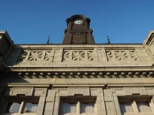文翔館の時計台:「山形ビエンナーレ2014」を観に行く