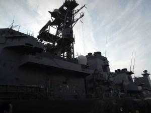 海上自衛隊佐世保基地(倉島岸壁)を見学