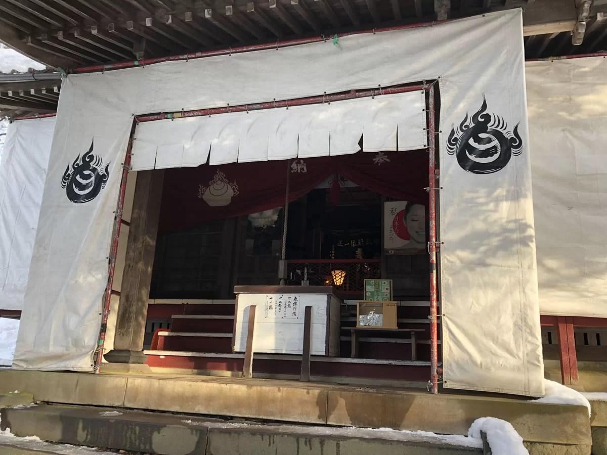 千歳稲荷神社に初詣:2019年1月2日の千歳山
