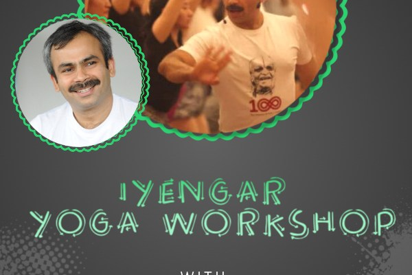 iyengar yoga workshop with uday bhosale