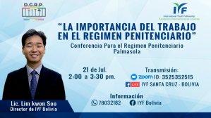 CONFERENCIA PARA EL PERSONAL ADMINISTRATIVO DEL RÉGIMEN PENITENCIARIO DE PALMASOLA