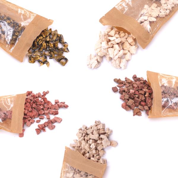 Freeze-Dried Cat Treats Kedi Ödülleri Et ve Sakatat Gerçek Protein Raw For Us İyi Besle İyi Hisset