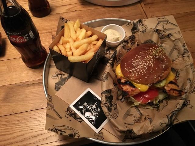Brüksel : Manhattn's Burger