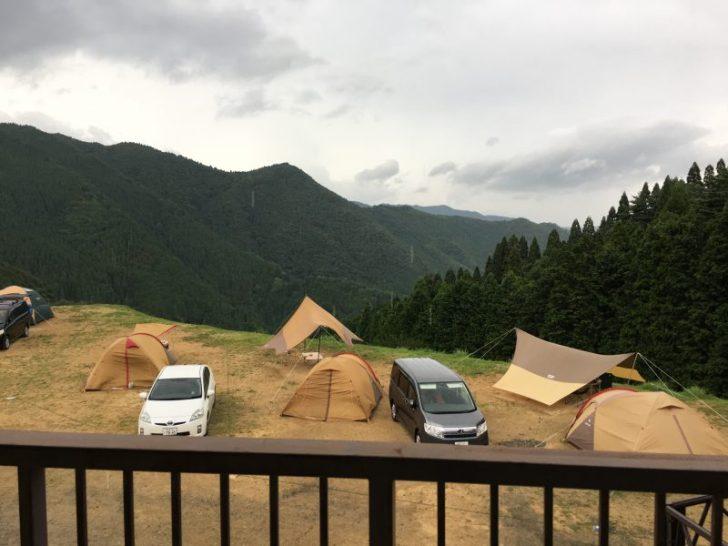 おおやキャンプ場絶景サイト
