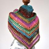 photo of the noro shawl