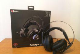 Słuchawki Trust GXT 383 Dion 7.1 z wibrującym basem - test PC